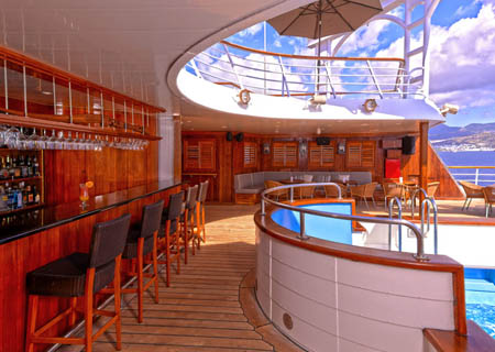 Windstar Pool Bar