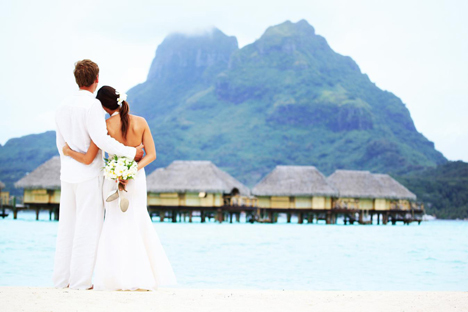 Bora Bora Wedding at Pearl Resort