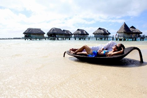 Bora Bora Private Island Honeymoon