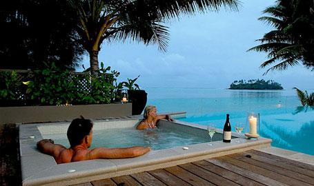 Cook Islands Honeymoon Hotels And Resorts Te Vakaroa Villas